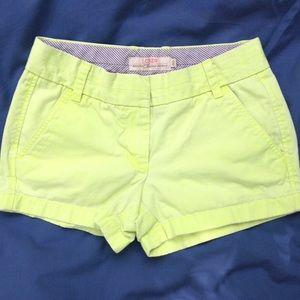 {J. Crew} Chino Shorts